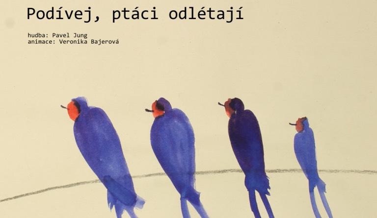 podívej, ptáci odlétají