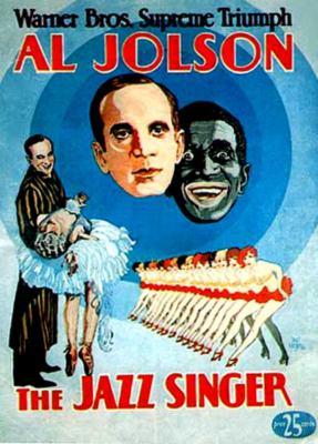 Plakát kfilmu Jazzový zpěvák
