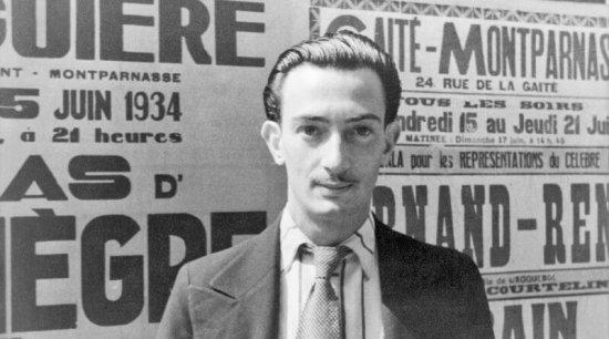 Salvador Dalí vroce 1934