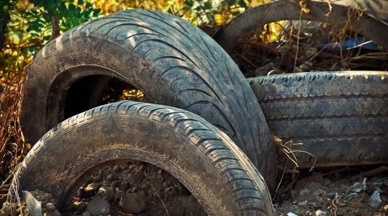 skládka pneu