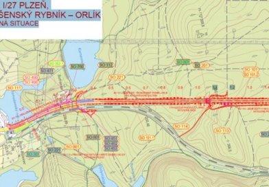 Rozšířenou silnici na Třemošnou překlene nová lávka pro pěší a cyklisty