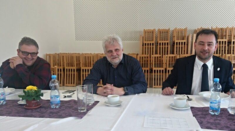 foto zleva: Jan Bostl, Jiří Vlk, Martin Sobotka