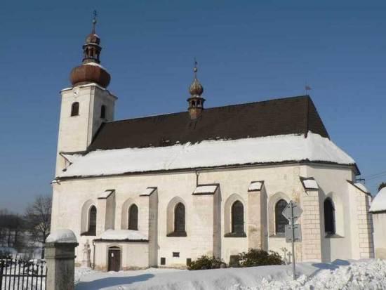 kostel Sobotín