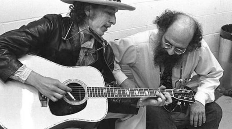 Bob Dylan a Allen Ginsberg