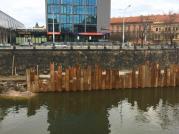 Průběh stavby v únoru 2019