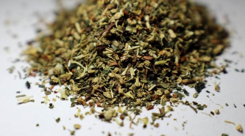 sušené byliny