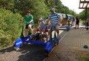 Prázdné koleje u Plzně možná využijí turisticky populární šlapací drezíny
