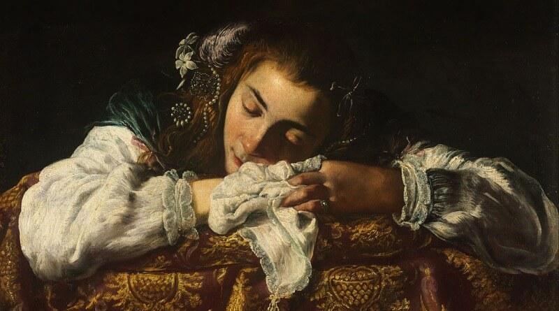 Domenico Fetti - Spící dívka
