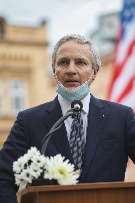 Belgický velvyslanec Grégoire Nicolas A. Cuvelier