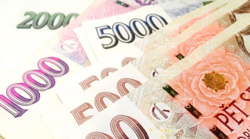 peníze - koruny