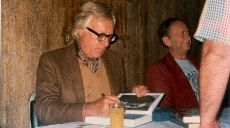 Ray Bradbury v roce 1977