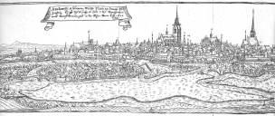 Plzeň v roce 1602