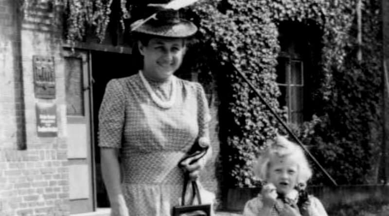 Magda a Gudrun Himmlerovi