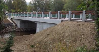 VPrášilech mají bezpečnější nový most