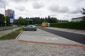 parkoviště u borského parku