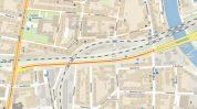 ulice u Trati - mapa