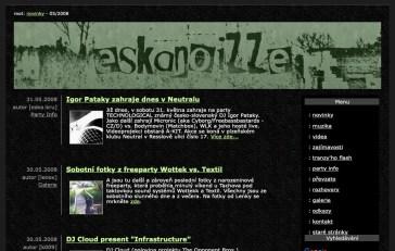 Eskanoizze.com v roce 2008. Foto: Archiv Plzenoviny.cz