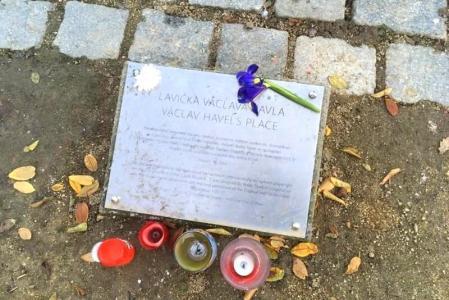 Lavička Václava Havla