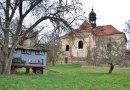Kostel sv. Barbory nedaleko Všekar. Zapomenuté místo s tajuplnou atmosférou