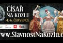 Zámek Kozel navštíví sám císař Josef II.