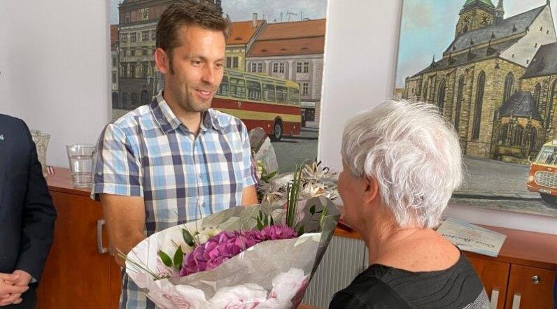 Jiří Bouzek a Alena Malá