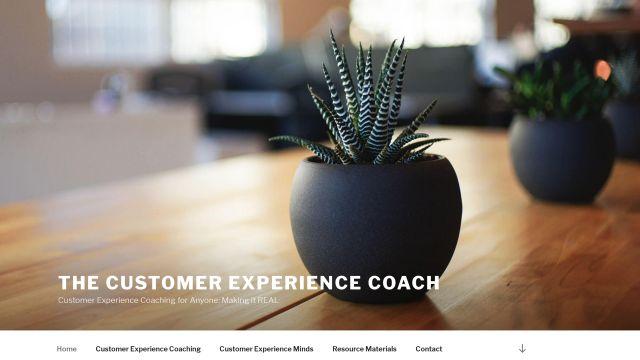 ACX Coach client website