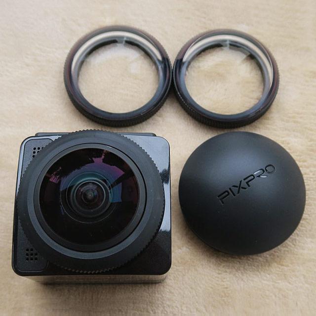 PIXPRO SXZP360 レンズ周り