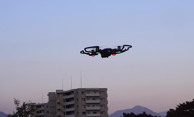 AIによってAVが変わる話しとドローンの手に着陸動画