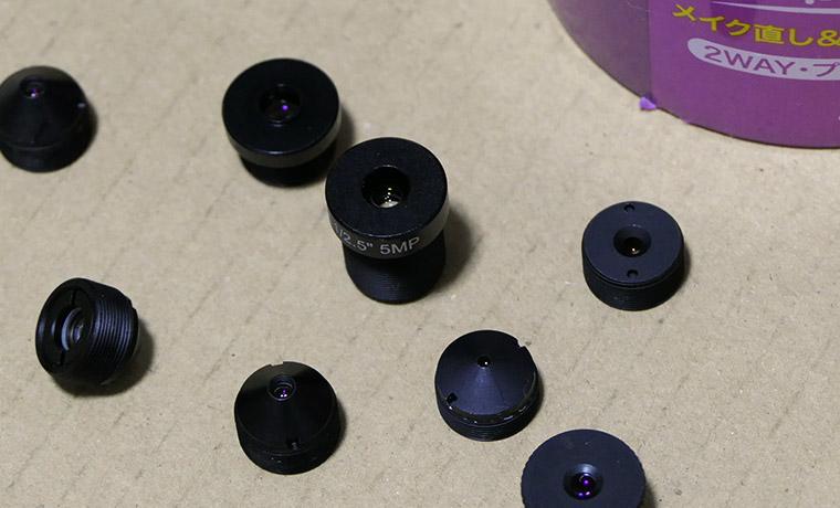 小型カメラ ピンレンズの清掃は結局これに落ち着いた