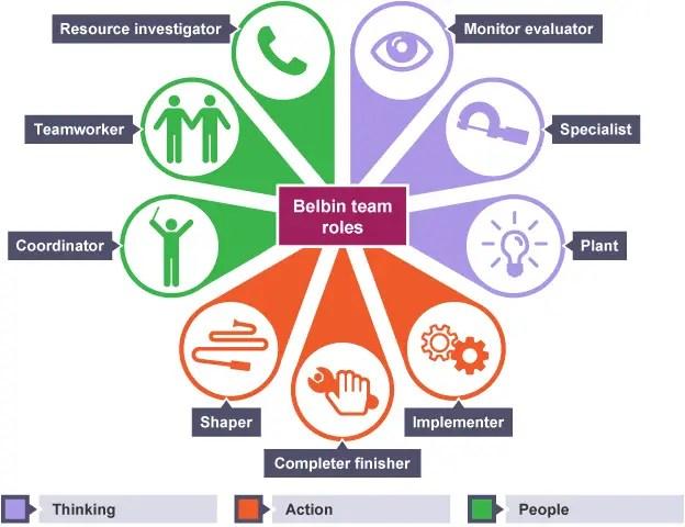belbin team roles for digital teamwork skills