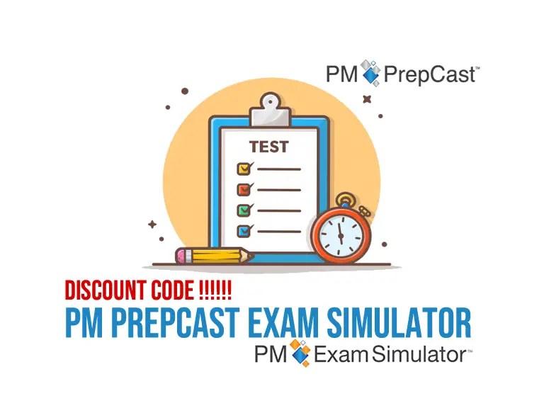 PM Prepcast discount code Exam Simulator PMP 2021