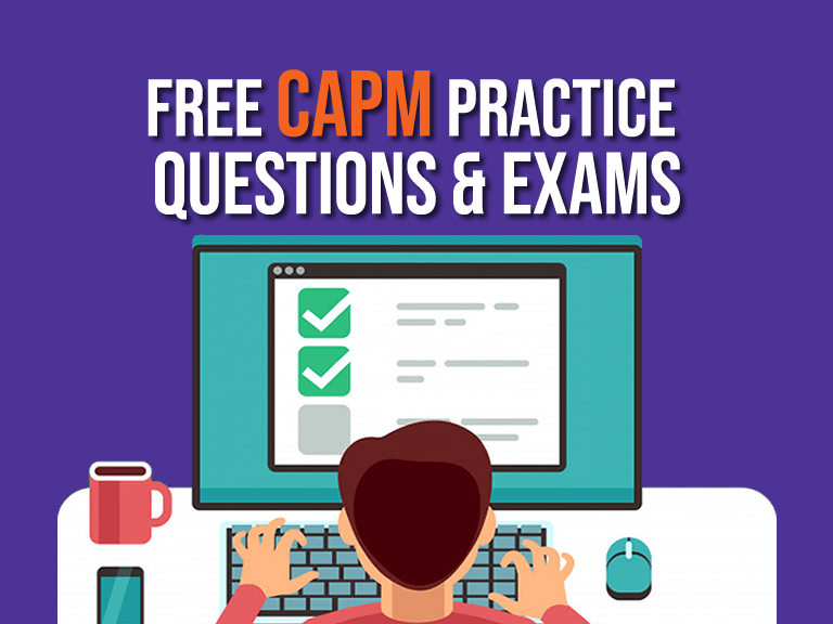 free capm practice exam questions and exams