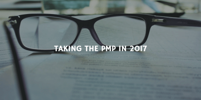 TAKING THE PMP EXAM