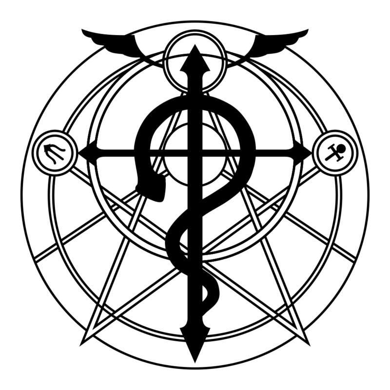 Fullmetal Alchemist Fire Alchemy Symbol