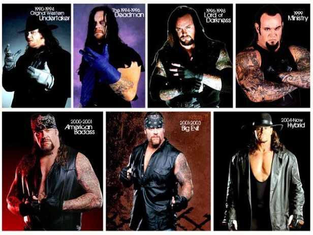 Which Undertaker Persona Is Your Favorite! | Wrestling Amino