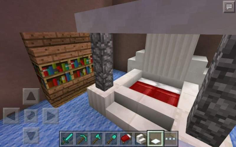 Minecraft Bedroom Designs Pe Memsaheb Net Living Room Centerfieldbar Com