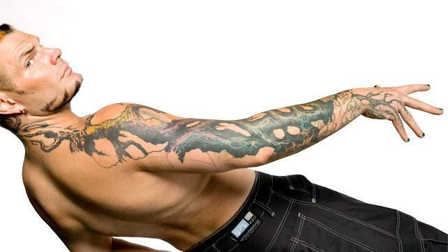 Rey Mysterio Tattoo Wings