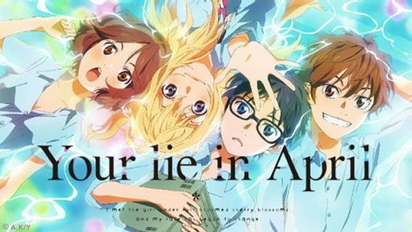 your lie in april review anime amino
