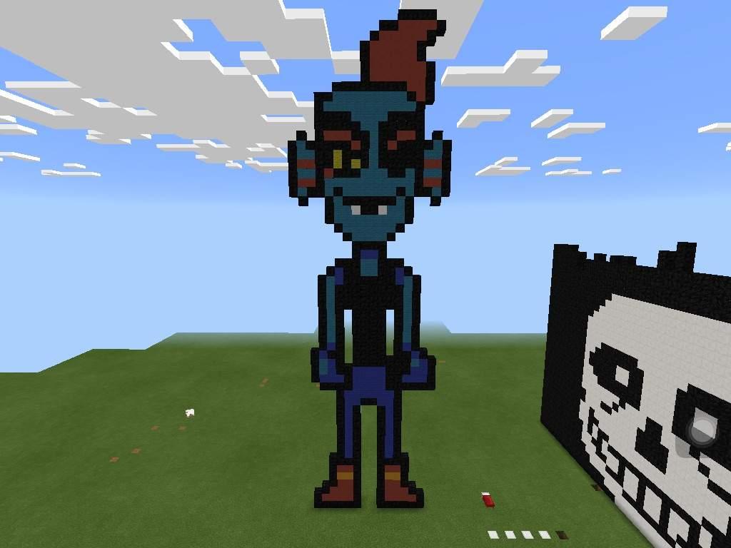 Undyne Undying Undertale Minecraft Skins