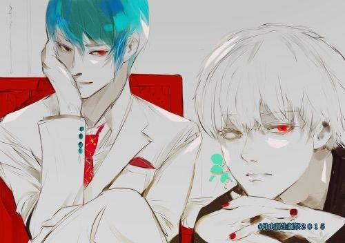 Hinami Tokyo And Tsukiyama Ghoul