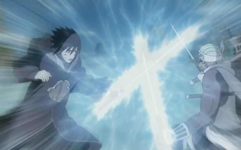 Image result for sasuke vs killer bee