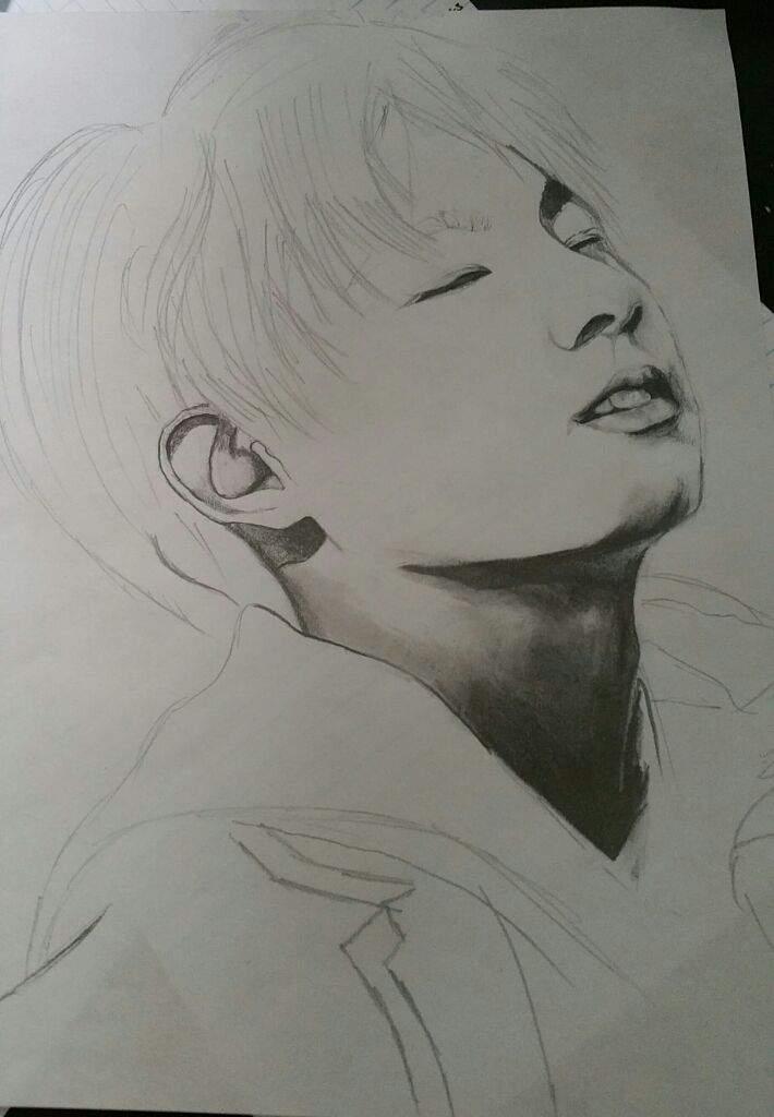 My Jungkook Sketch K Pop Amino