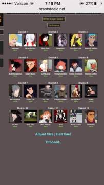 RWBY Hunger Games Simulation 7   Anime Amino
