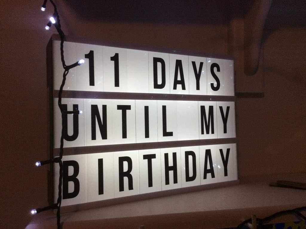 Birthday Countdown 11 Pll Amino