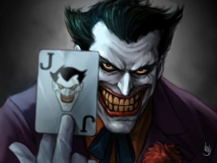 Face Joker Black And Why White So Serious