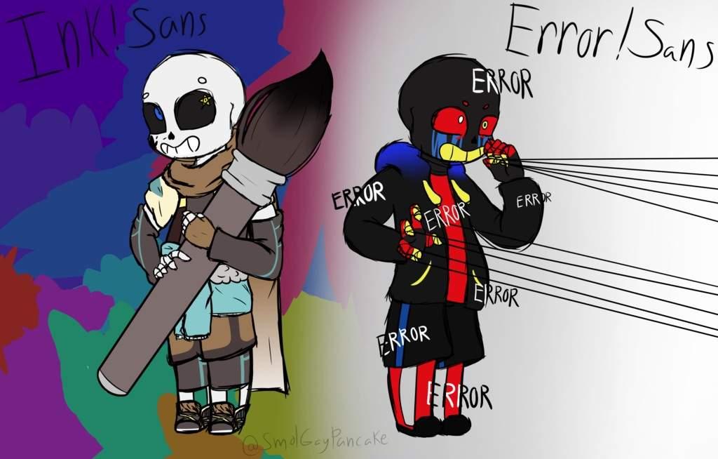 Sans Error Ink Sin Undertale X