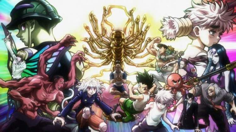 Image result for chimera ant arc