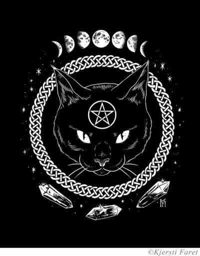 Witches Draw Circle Floor