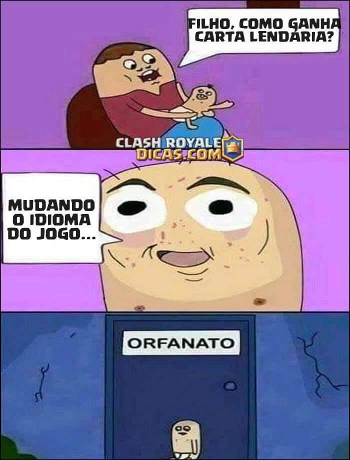 Clash Memes Portugues Royale