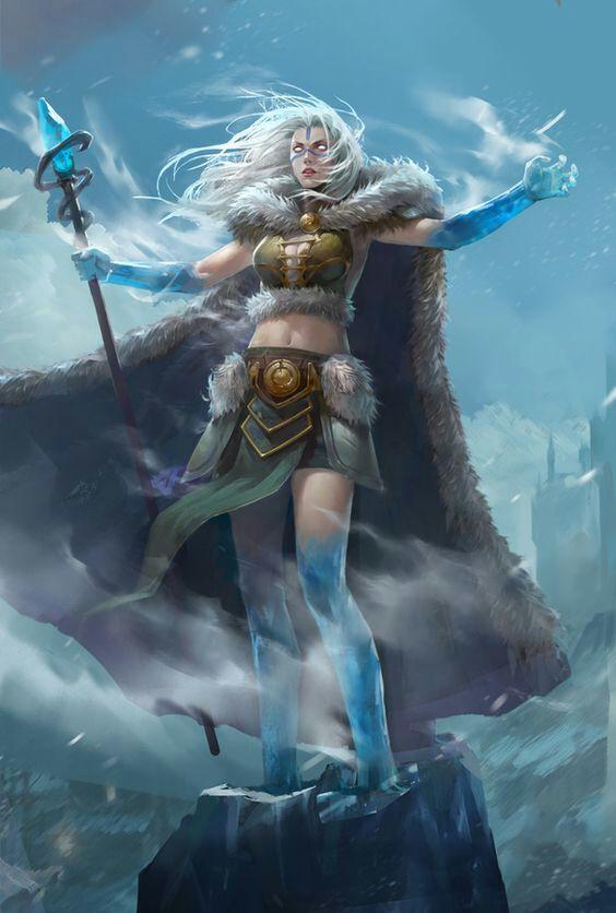 Black Haired Elf Warrior